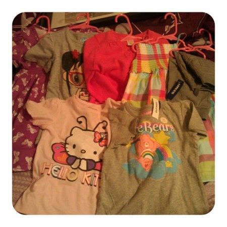 New clothes for Aly