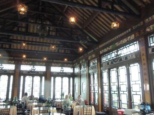 Inside the Tea House