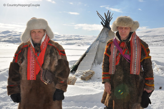 The indigenous Sami people in Northern Norway