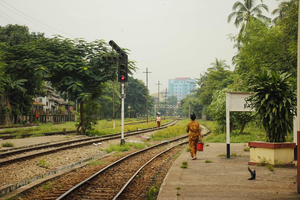 bylivet i Yangon
