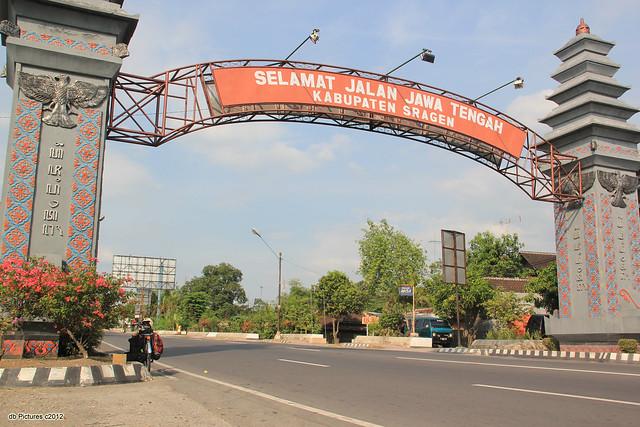 Sragen-Ngawi border Gate