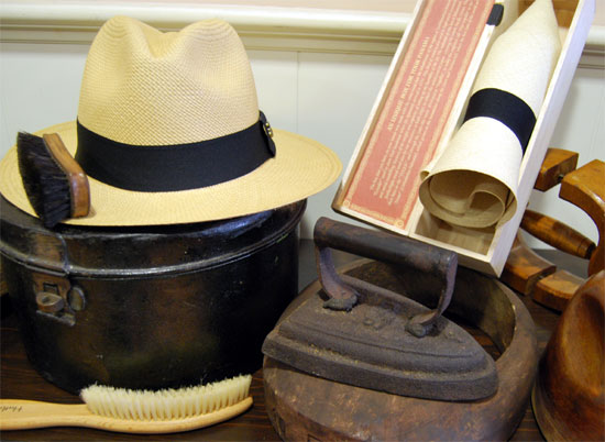Doblar un Sombrero Panamá
