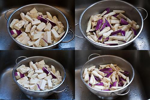 Salting-Eggplant