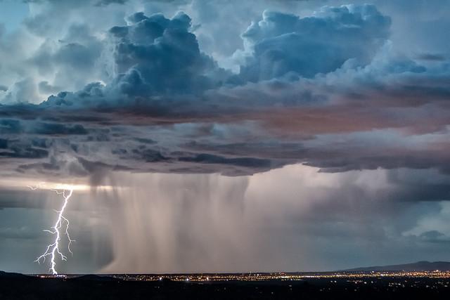 Santa Fe Thunderstorm - 2