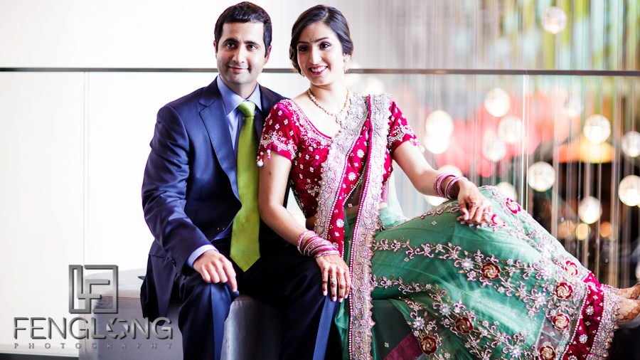 Reesha & Neil's Hindu Wedding Reception | W Hotel Midtown | Atlanta Indian Wedding Photographer