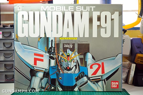 Gundam F91 1-60 Big Scale OOTB Unboxing Review (1)