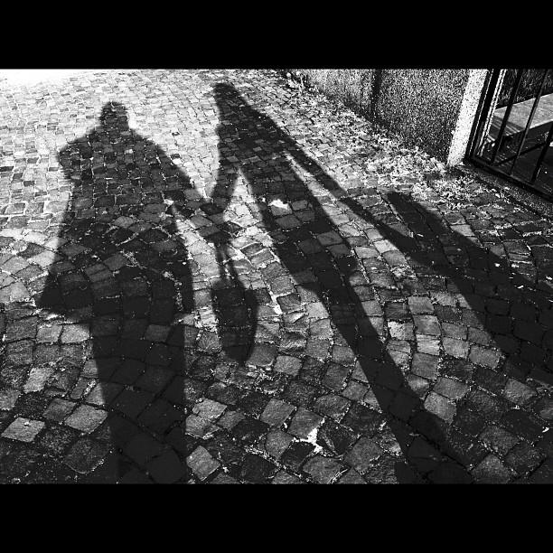 Family shadows.