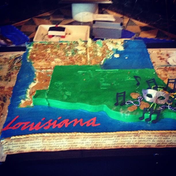 Happy 200th Birthday Cake Louisiana Explore Paultwo S