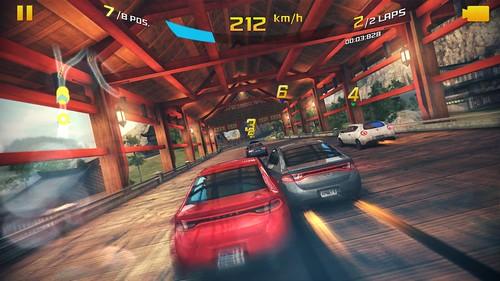 เกม Asphalt 8: Airborne บน Samsung Galaxy S5