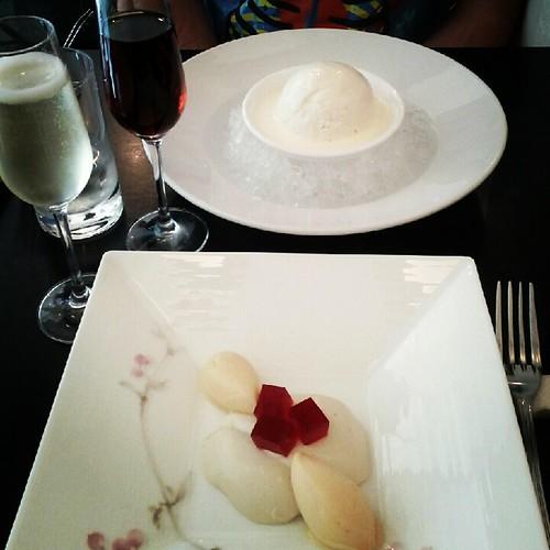 Dessert first at Chikalicious