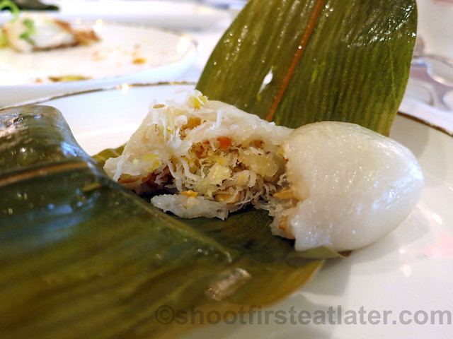 glutinous dumplings stuffed with candied fruits, coconut & nuts HK$26-002