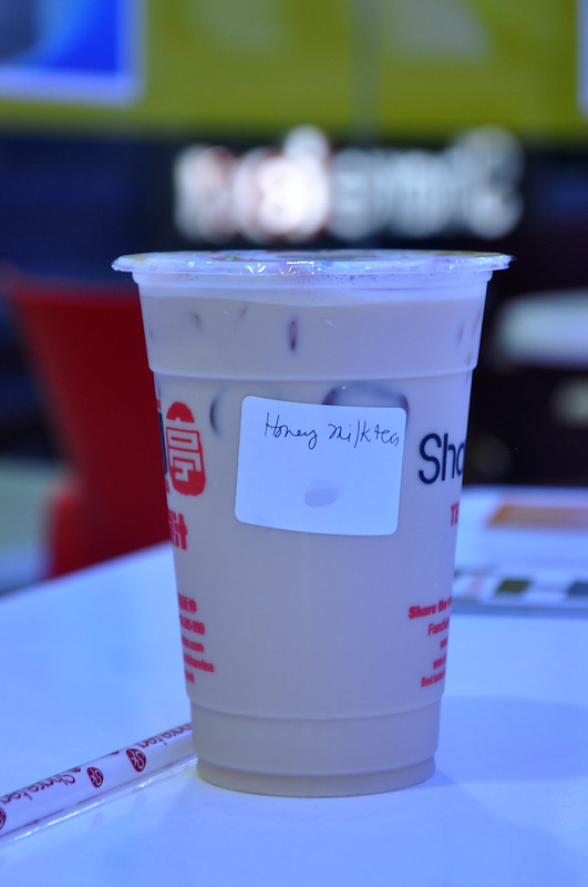 Honey Milk Tea