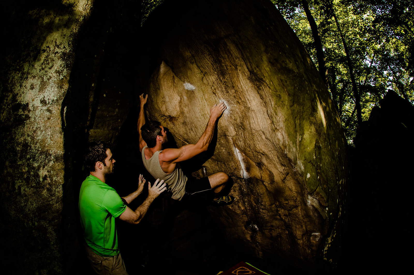 Max W working Shadowboxer (V6)