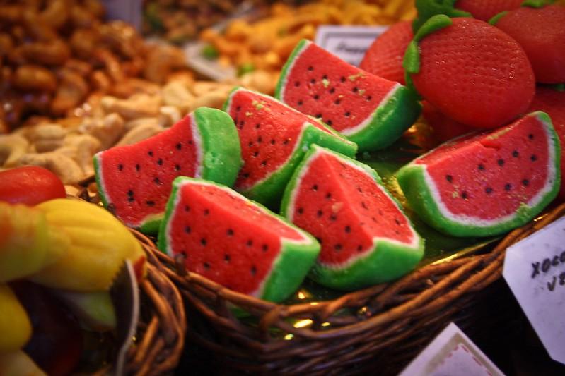 Marzipan Watermelon