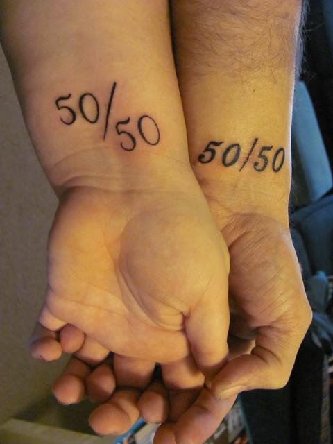 Engagement tattoos