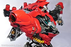 Formania Sazabi Bust Display Figure Unboxing Review Photos (110)