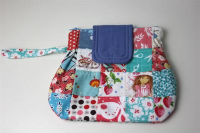 """My version of """"The Emma Clutch"""" front"""