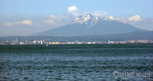 Aomori with Iwaki mountain