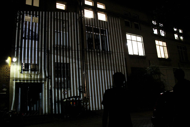 mayer+empl . 110G . interactive video mapping sculpture . munich . 2012