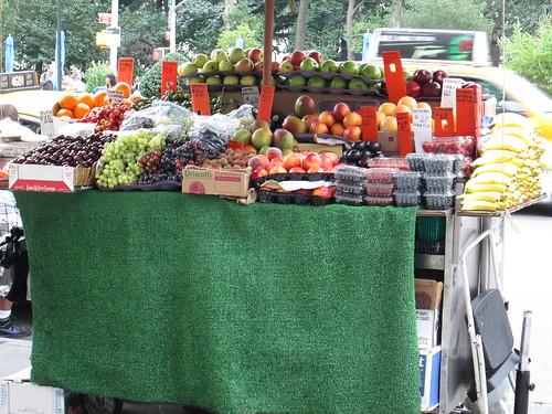 Fruit Card, NYC. Nueva Yor