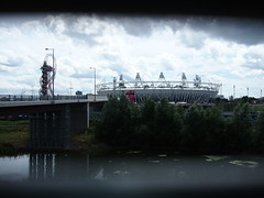 Olympic park: Orbit and stadium