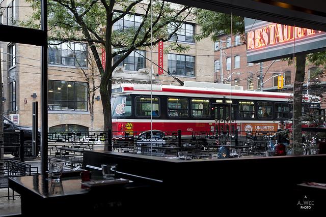 Tram at King Street