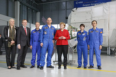 Alexander commander of ISS announcement