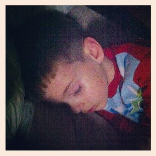 Finally asleep