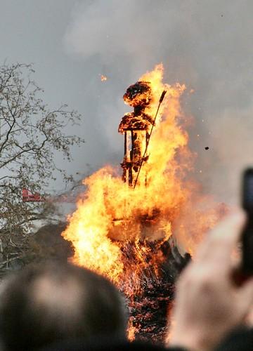 burning of the Böögg 2012