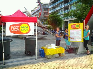 Olympic Village Food Scraps Drop Spot