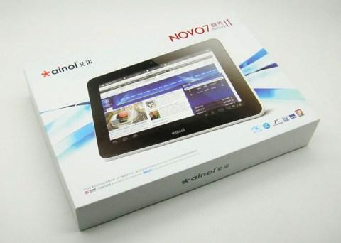 Ainol Novo 7 Aurora II - Packing