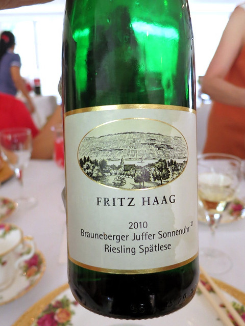 Fritz Haag 2010 Riesling Spatlese