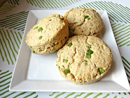 Cheddar, Jalapeno & Chive Biscuits