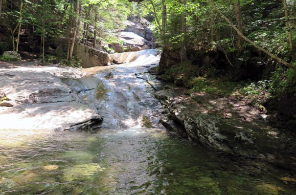 Below Bridal Veil Falls