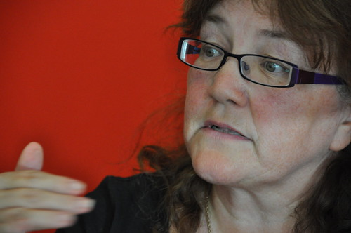 Kaye Tew of the Manchester Children's Book Festival