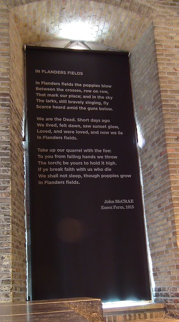 In Flanders Fields poem by John McCrae