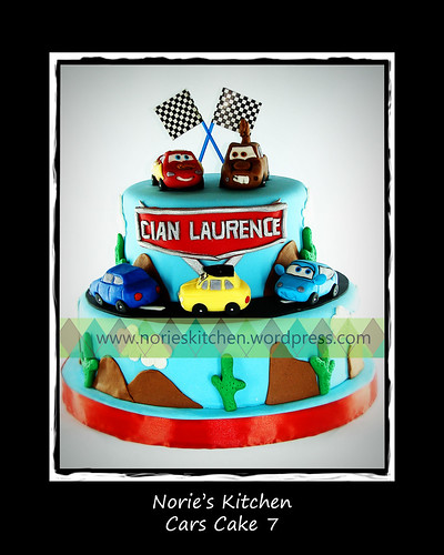 Norie's Kitchen - Cars Cake 7 by Norie's Kitchen