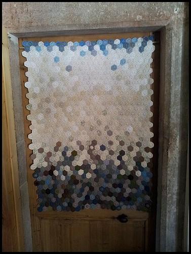 hexagon curtain