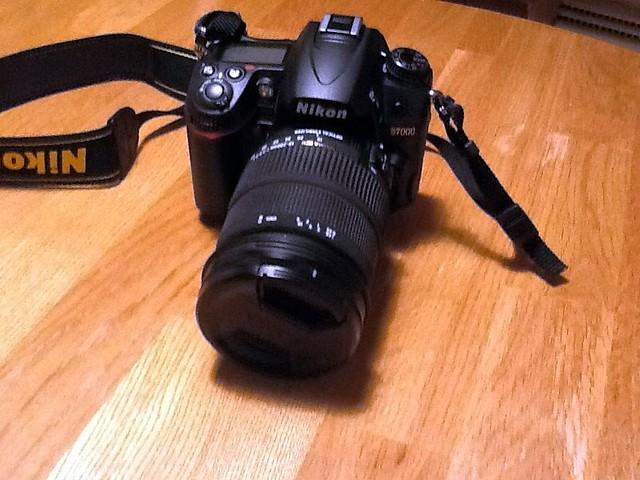 Nikon D7000 with Sigma 18-200 Lens