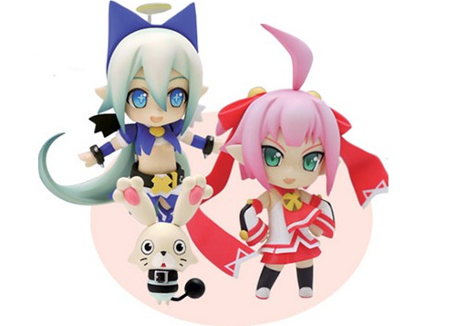 Nendoroid Petit Altis, Shampuru, and Chu Chu Infinite