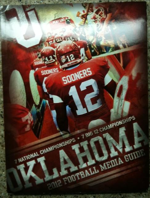 OU Media Guide 2012