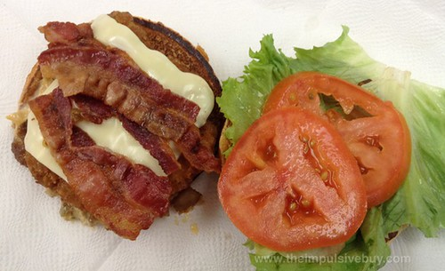 McDonald's Premium Crispy Chicken Bacon Clubhouse Sandwich Top
