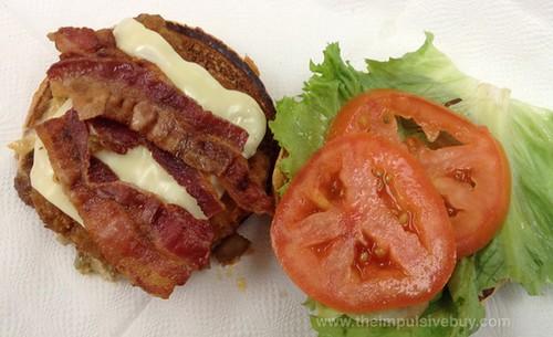 McDonald's Premium Crispy Chicken Bacon Clubhouse Sandwich Top