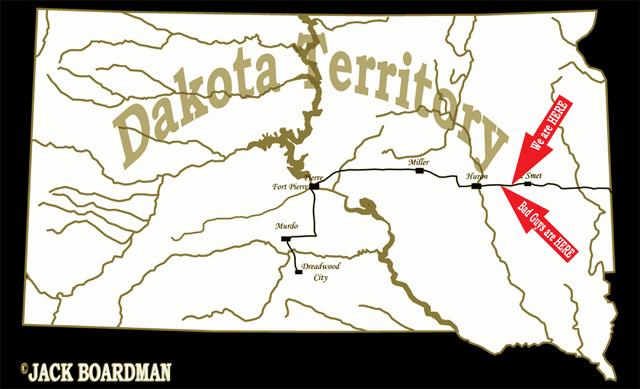 South Dakota Territory ©2012 Jack Boardman