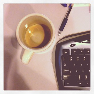 When the coffee is gone #photoadayapril #somethingthatmakesyousad