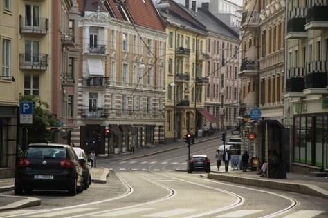 Oslo street (Frognerveien)