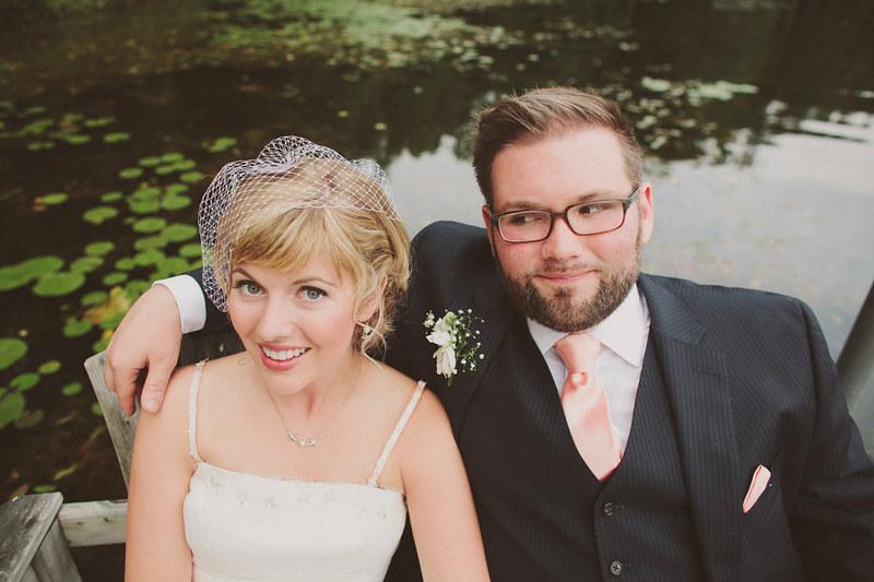rustic lake house community celebration wedding