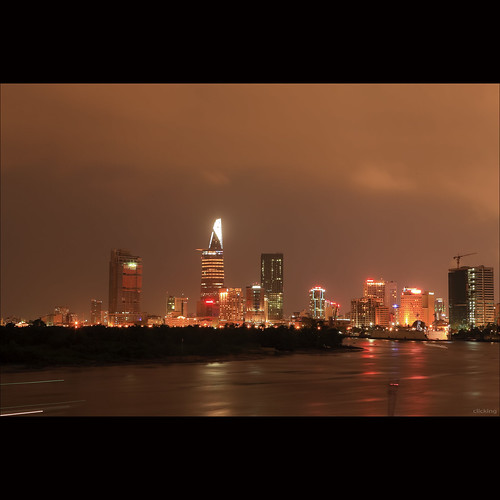 Saigon nightscape [ EXPLORED ]
