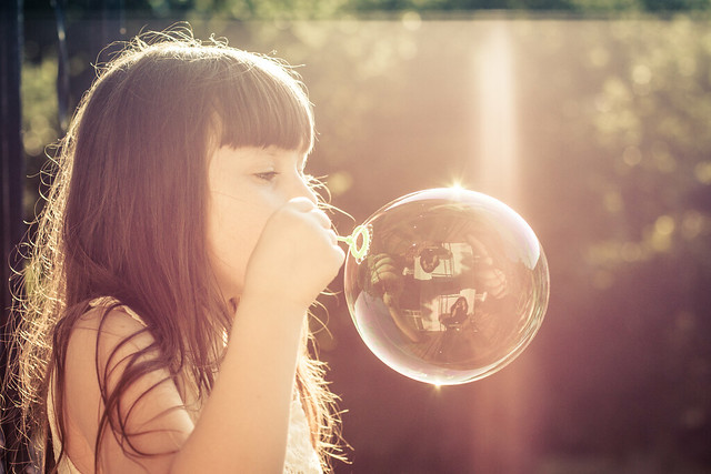 Reflections in a bubble