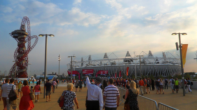 The Olympic Stadium and The Orbit